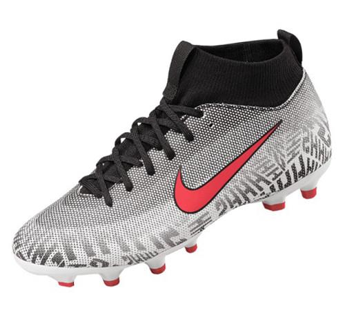 Nike Neymar Jr. Superfly 6 Academy MG Multiground - White/Challenge Red/Black (021819)