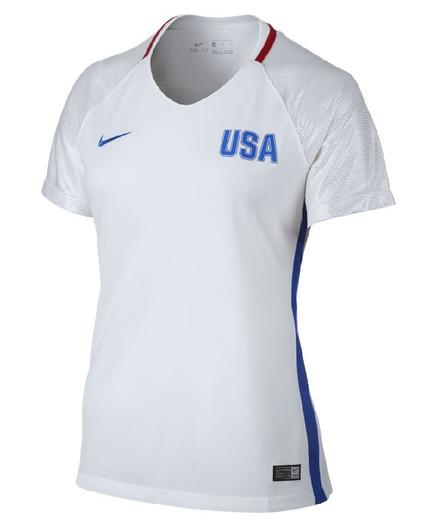 c5620bc4b Nike Womens 2016 Olympics USA Stadium Jersey - White (32318)