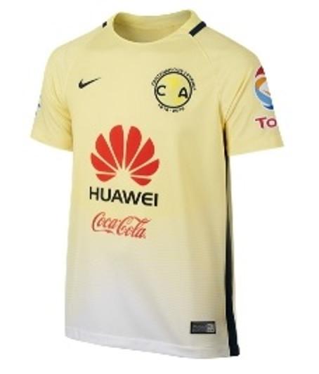 Nike 2018 19 Club America Stadium Home Jersey Jr. - Lemon Chiffon ... f8e1595ac