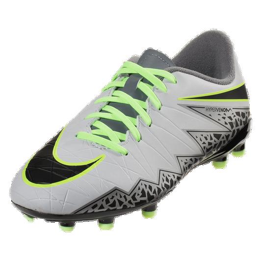 817d9d940 Nike Hypervenom Phelon II FG - Pure Platinum/Black/Ghost Green/Cool Grey/ Metallic Silver/Clear Jade (11319) SD