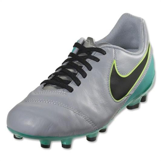39482c42936 Nike Jr Tiempo Legend FG - Wolf Grey Clear Jade Black Volt (40219)