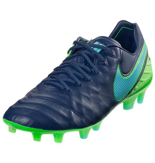 9a5013b6bcf Nike Jr Tiempo Legend VI FG - Coastal Blue Rage Green Polarized Blue (40219)