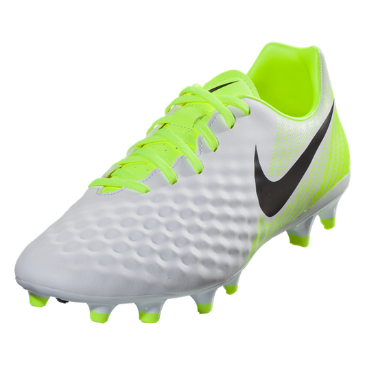 promo code 37dc4 b8a72 Nike Magista Opus II FG - White/Black/Volt/Wolf Grey RC (2219) - ohp ...
