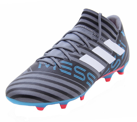 low priced 8e651 72dce Adidas Nemeziz Messi 17.3 FG - Grey White Core Black (011918)
