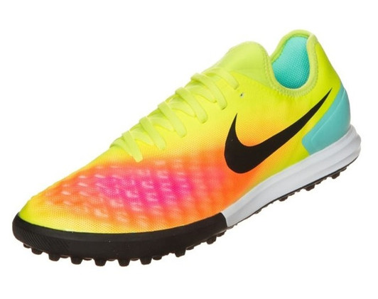 da7e60ae779 Nike MagistaX Finale II TF - Volt Black Total Orange Pink Blast SD(032619)