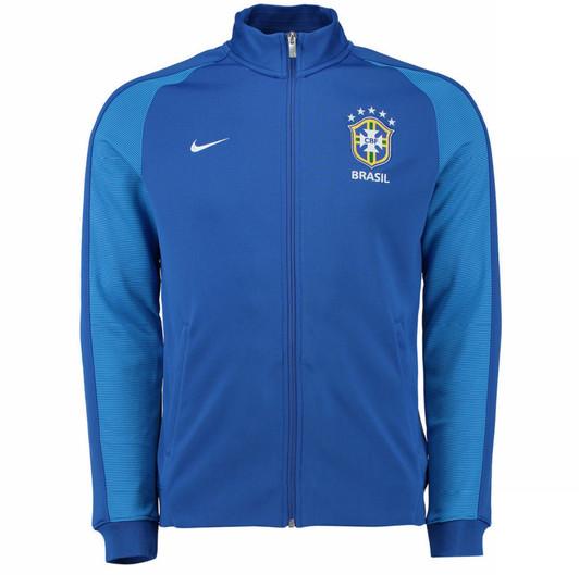7d74a092b Nike Brazil 2016 17 Authentic N98 Track Jacket - Blue White (52818)