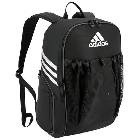 ed4c9fc90f Adidas Defender III Medium Duffel Bag -Black White (101718) - ohp soccer