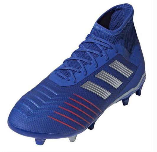 d46ec71c9 Adidas Predator 19.1 FG Jr. - Bold Blue/Silver Metallic/Football Blue/Active  Red (012519)