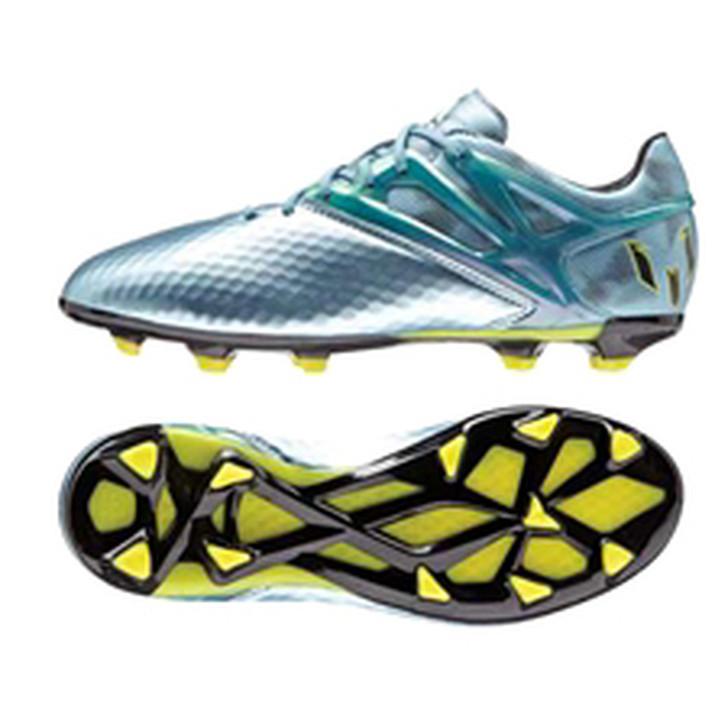 Adidas Messi Youth 15.1 FG/AG - Matte Ice Metallic/Bright Yellow/Core Black (101121)