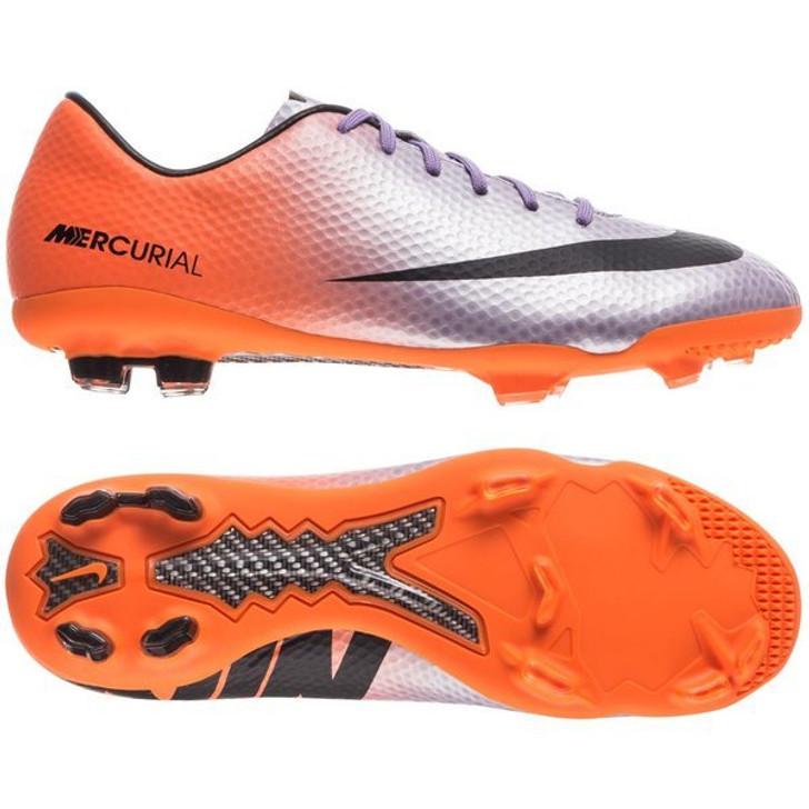 Nike Mercurial Vapor IX FG - Metallic Mach Purple/Black/Total Orange (100821)