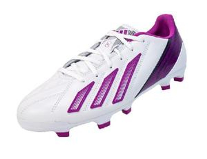 Adidas Wmns Leather F30 TRX FG - White/Vivid Pink/Urban Sky SD (050420)