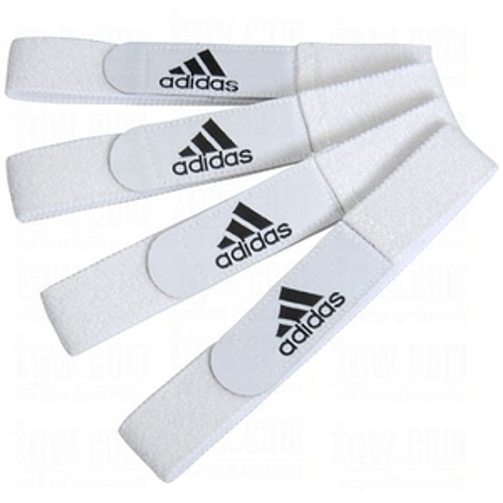 Adidas Shin Guard Straps - White (122320)