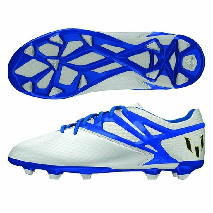 Adidas Messi 15.1 Youth FG/AG - White/Prime Blue/Black