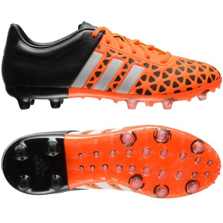 Adidas Ace 15.1 Jr FG/AG - Solar Orange/White/Core Black (101221)