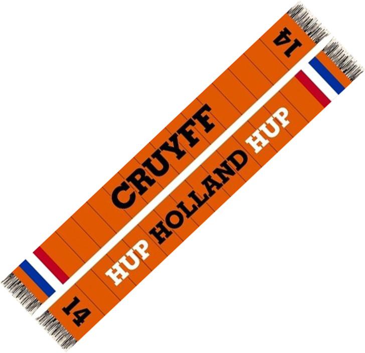 Cruyff Holland Scarf - Orange/Black