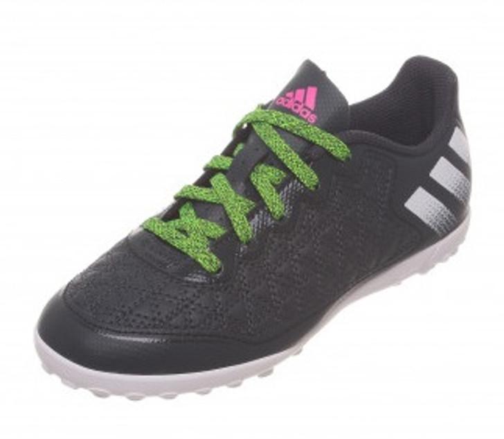 Adidas ACE 16.3 CG Jr. - Dark Grey/Grey/Green/ (101221)