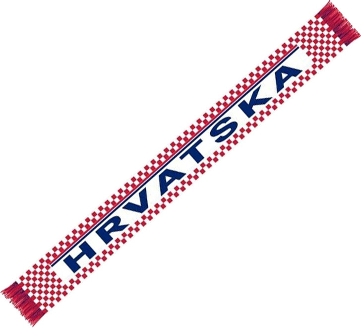 Croatia Supporters Scarf - Red/White