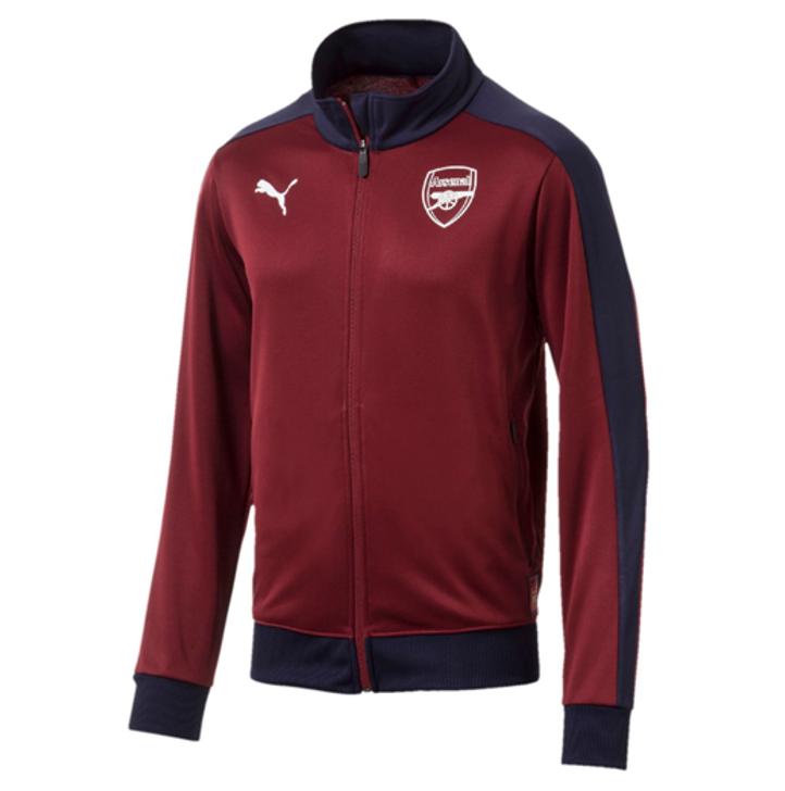 Puma Arsenal Fan T7 Track Jacket - Red/Black (122719)
