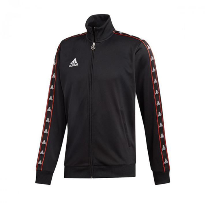 Adidas TAN Tape Clubhouse Jacket - Black (122719)