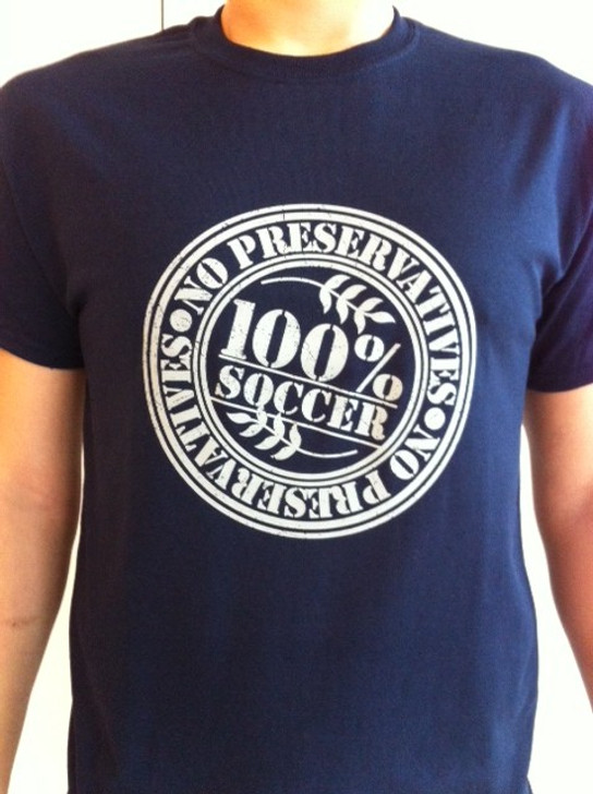 No Preservatives T - Navy
