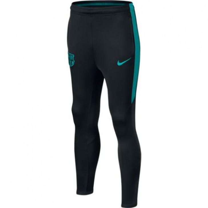 Nike Barcelona FC Youth Training Pants - Black/Teal (122619)