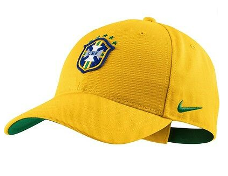 Nike CBF Mens Core Cap - Yellow/Green (53018)