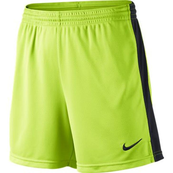 Nike Academy Wmns Knit Shorts - Volt/Black (091719)