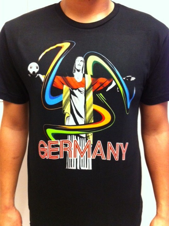 SIK Germany WC 2014 Tee - Black SD (091220)