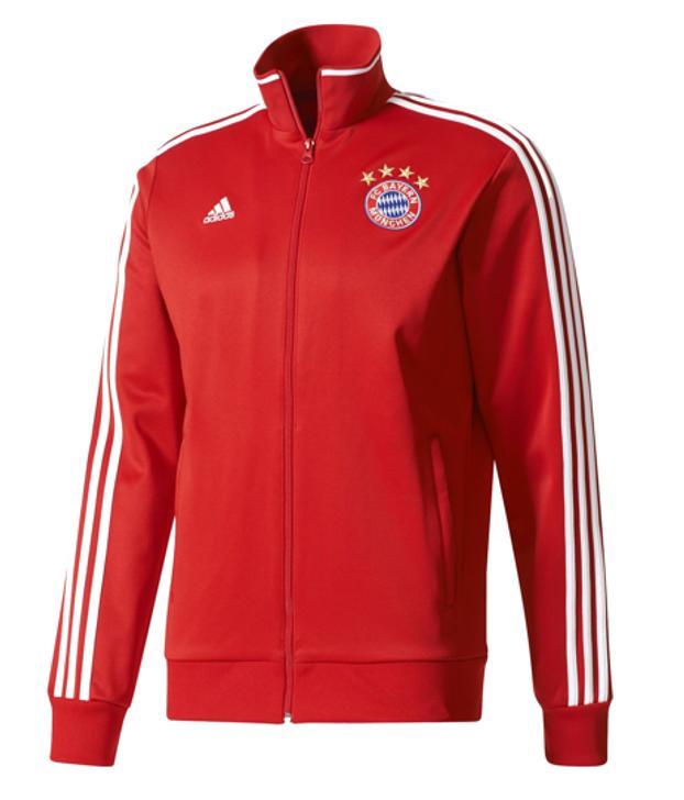 Adidas Bayern Munich 3S Track Top - Red (123019)