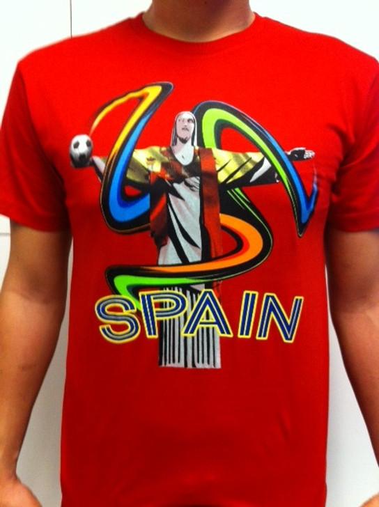 SIK Spain Tee WC 2014 - Red (091220)