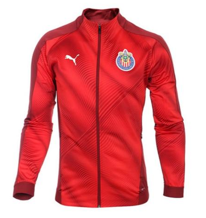 Puma Men's Chivas Stadium Soccer Jacket - Pomegranate (122719)