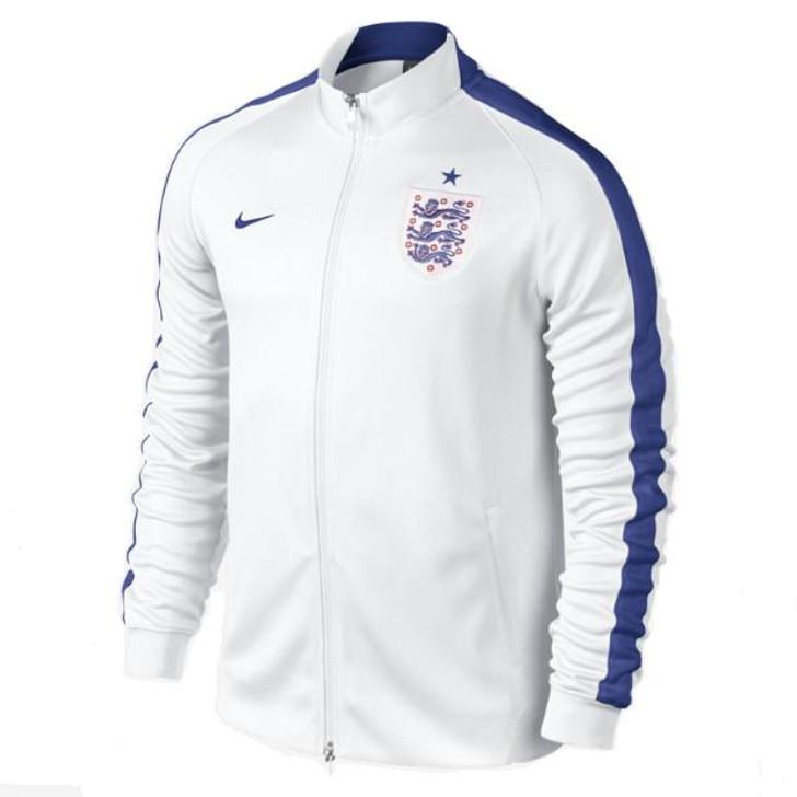 3124882c2 Nike N98 England Authentic Track Jacket - White/Blue (6319) · Nike N98  England Authentic Track Jacket ...