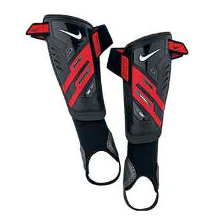 Nike Protegga Shield Shin Guard - Black/Red (122819)