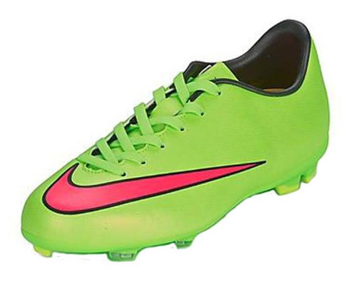 on sale 17b0c ec0cd Nike Jr Mercurial Victory V FG - Green/Pink RC (020619)