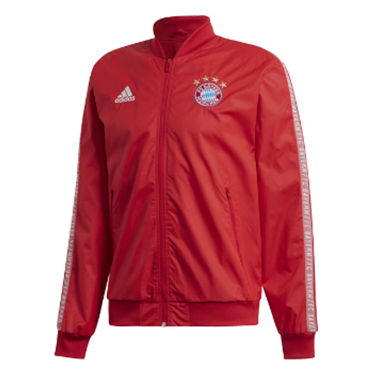 adidas FC Bayern Anthem Jacket Red/White SD (090120)