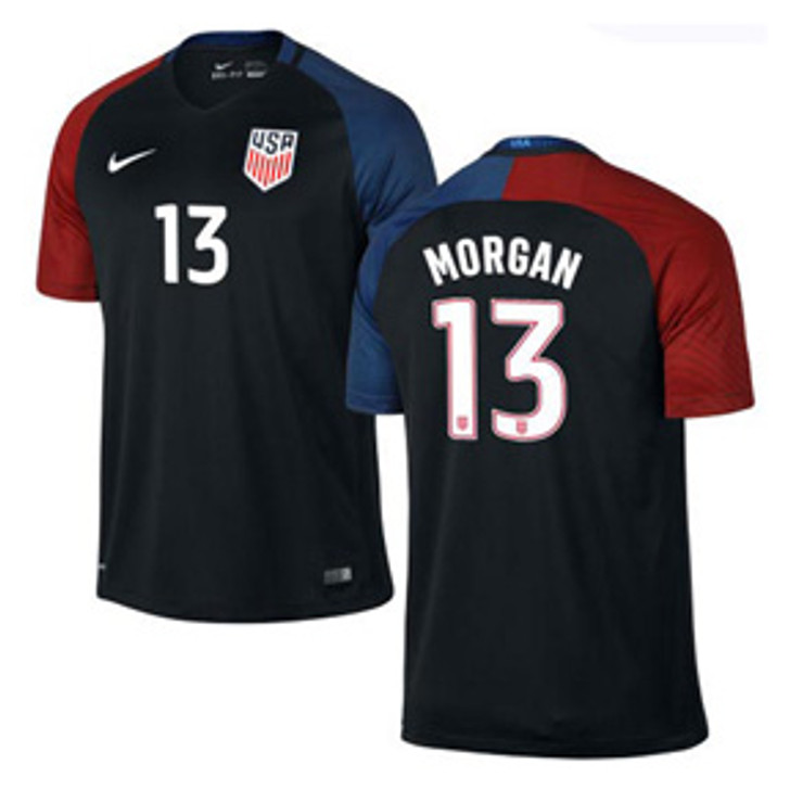 Nike Women's U.S. National Team 16/17 Stadium Jersey- 743671-010-MORGAN