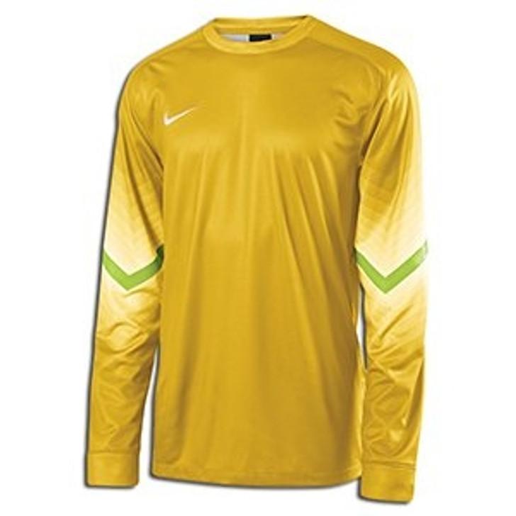 Nike LS Goleiro Youth Goalie Jersey - Gold