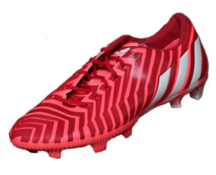 adidas Womens Predator Instinct FG - Solar Red/Flash Red RC (061819)