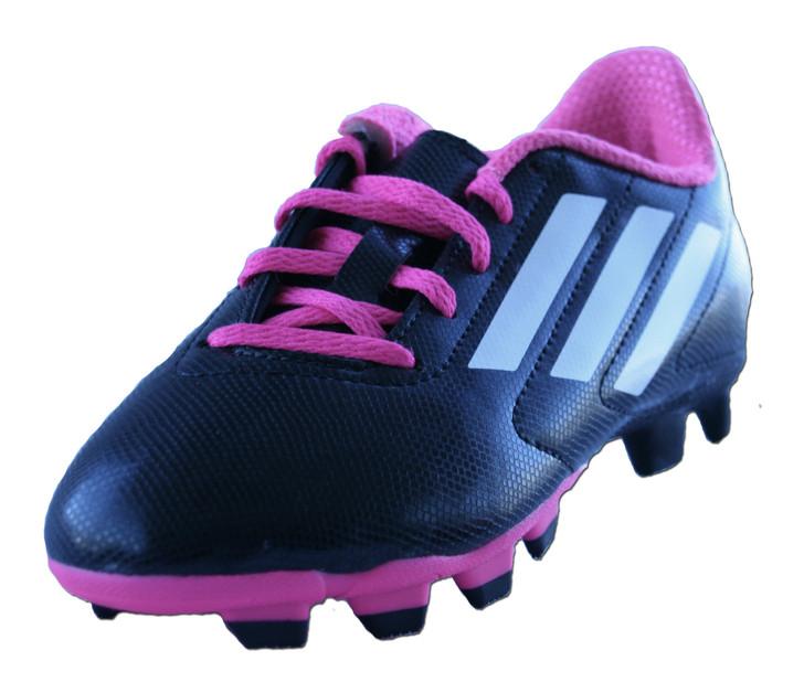 adidas Youth Conquisto FG - Black/Pink