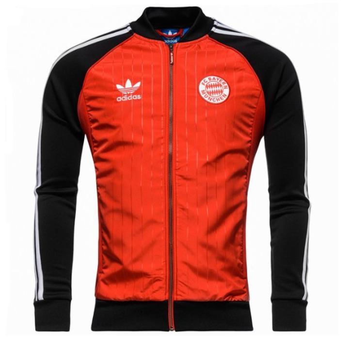adidas FC Bayern Superstar Jacket Scarlet/Black SD (090120)