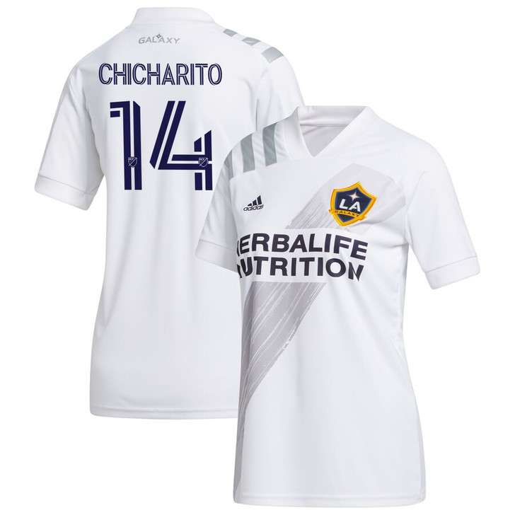 Adidas LA Galaxy Home 20/21 Womens Jersey Chicharito White/Grey (082420)