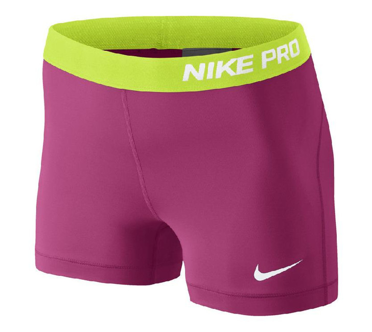 Nike Wmns Pro 3 Short - Hot Pink/White