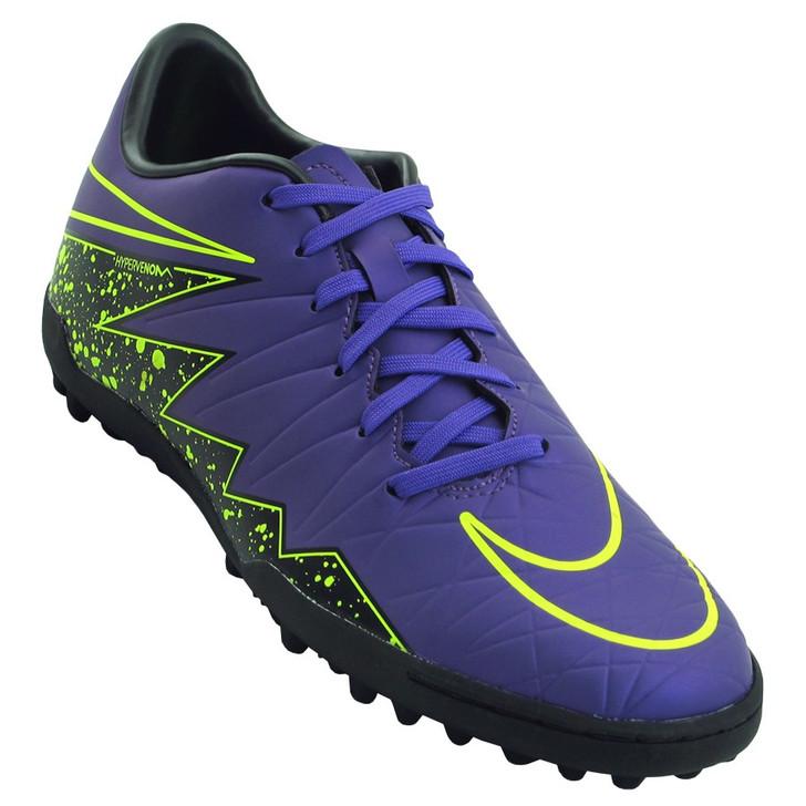 Nike Hypervenom Phelon II TF - Hyper Grape/Black/Volt - SD (011620)
