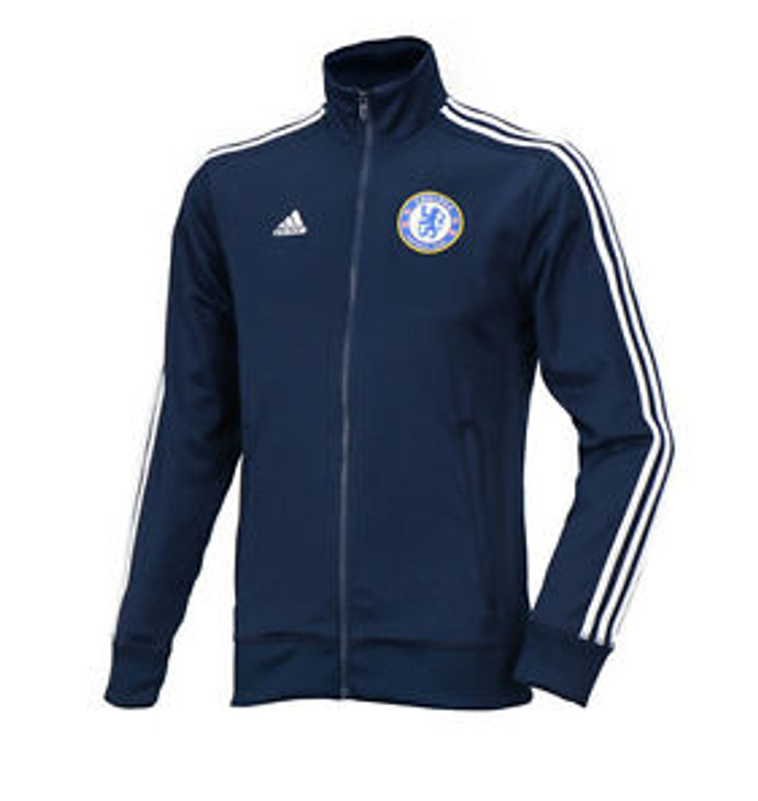 adidas Chelsea 3 Stripe Track Jacket Blue/White SD (090120)