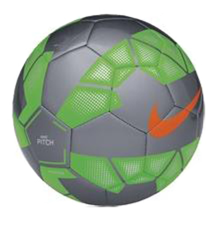 Nike Pitch Soccer Ball - Green/Silver RC (123119)