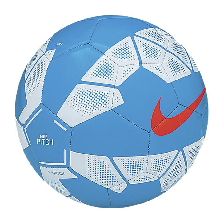 Nike Pitch Soccer Ball - Blue Lagoon/White/Hyper Crimson- (121620)