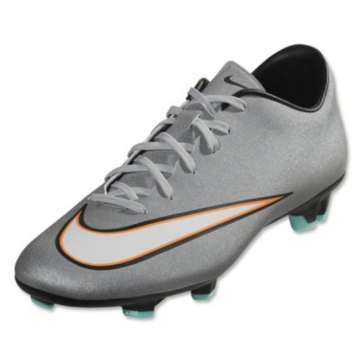7f26682cf Nike Mercurial Victory V CR7 FG - Silver Turquoise - ohp soccer