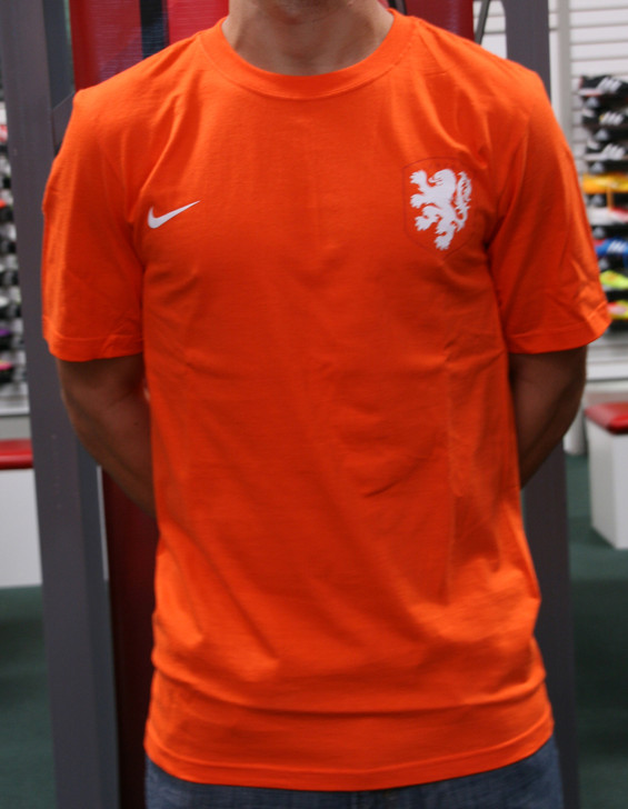 Nike Holland Supporter Men's T-Shirt - Orange RC (121519)