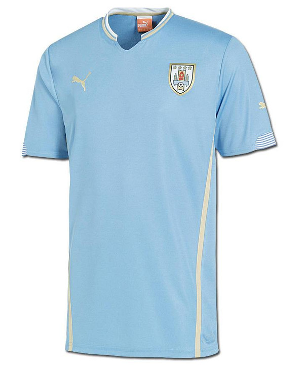 Puma Uruguay Home Jersey - Light Blue SD (090120)