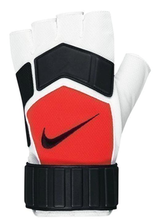 Nike Futsal Glove - White/Bright Crimson/Black- RC (080921)